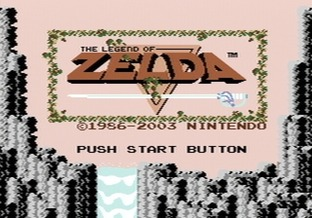 Test The Legend of Zelda Nes - Screenshot 1