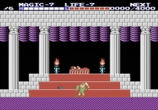 Zelda II : The Adventure of Link NES - Screenshot 3