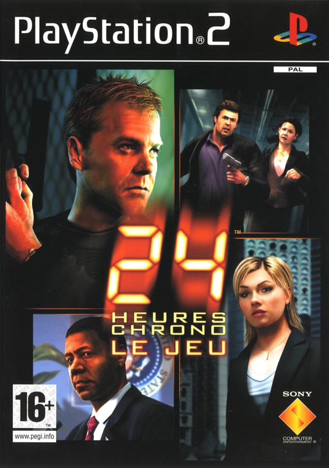 jeuxvideo.com 24 Heures Chrono : Le Jeu - PlayStation 2 Image 1 sur