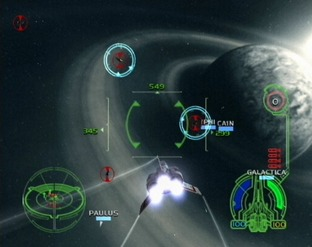Test Battlestar  Galactica PlayStation 2 - Screenshot 30