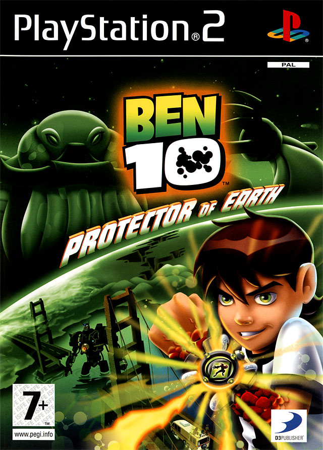 Ben 10 protector of earth sur playstation 2 - Jeux info ben 10 ...