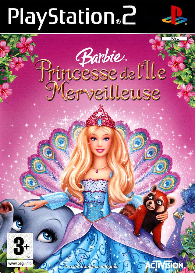 Achat barbie princesse de l 39 ile merveilleuse sur ps2 - Barbie et l ile merveilleuse ...