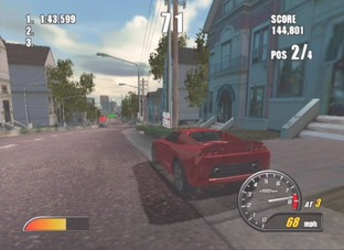Test Burnout 2 PlayStation 2 - Screenshot 17