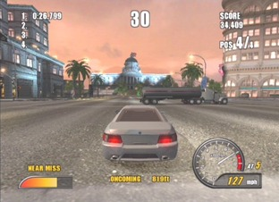 Test Burnout 2 PlayStation 2 - Screenshot 18