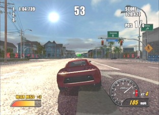 Test Burnout 2 PlayStation 2 - Screenshot 19