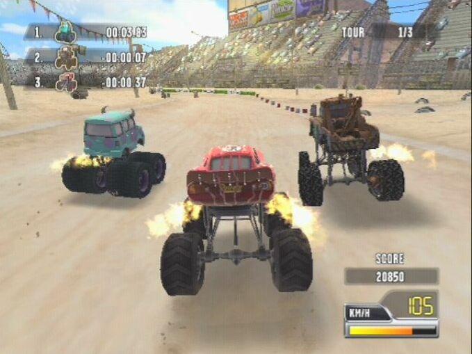 jeuxvideo.com Cars Race-O-Rama - PlayStation 2 Image 6 sur 82