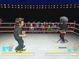 Test MTV Celebrity Deathmatch PlayStation 2 - Screenshot 6