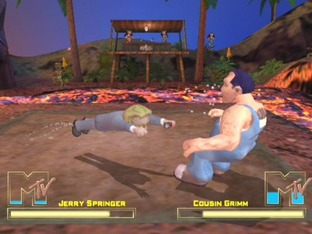 Test MTV Celebrity Deathmatch PlayStation 2 - Screenshot 7