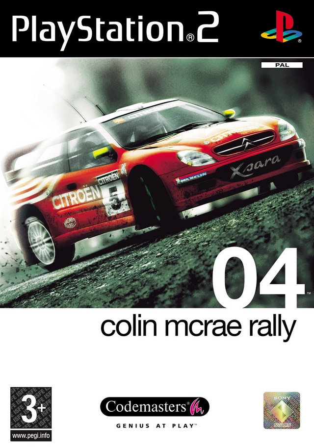 colin mcrae rally 04 sur playstation 2. Black Bedroom Furniture Sets. Home Design Ideas