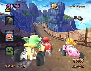 Test Cocoto Kart Racer PlayStation 2 - Screenshot 1