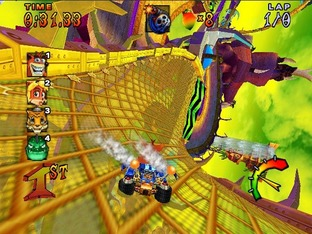 Crash Nitro Kart PS2 - Screenshot 4