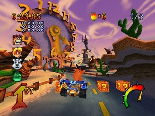 Crash Nitro Kart PS2 - Screenshot 5