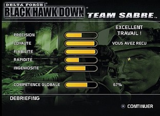 Test Delta force : Black Hawk Down : Team Sabre PlayStation 2 - Screenshot 12