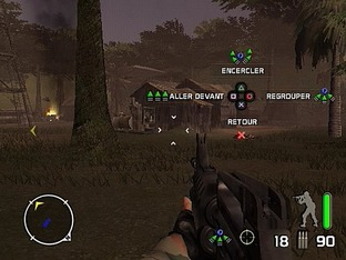 Test Delta force : Black Hawk Down : Team Sabre PlayStation 2 - Screenshot 15