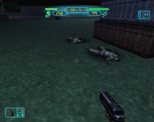 Test Deus Ex PlayStation 2 - Screenshot 24