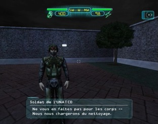 Test Deus Ex PlayStation 2 - Screenshot 33