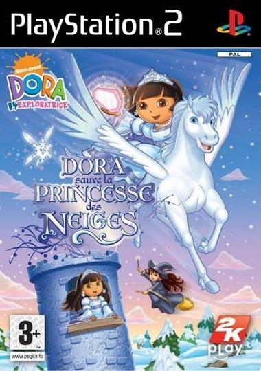 Dora sauve la princesse des neiges sur playstation 2 - Jeux princesse des neiges ...