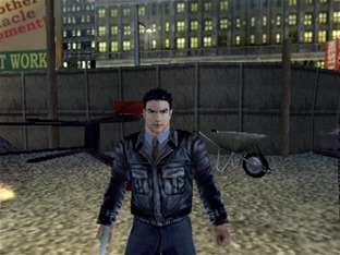 Test Dead To Rights PlayStation 2 - Screenshot 9