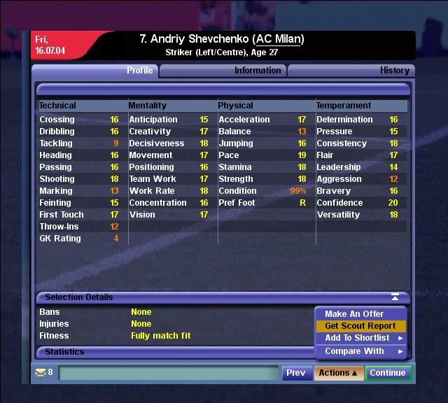 L'Entraîneur 5 : Saison 04/05