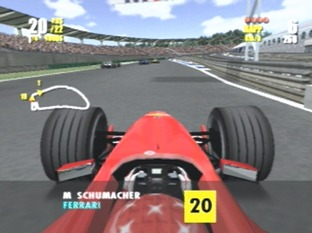 Test F1 Championship Saison 2000 PlayStation 2 - Screenshot 1