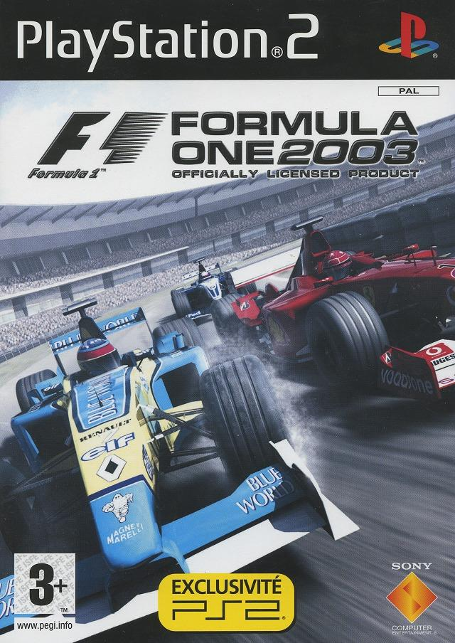 formula one 2003 sur playstation 2. Black Bedroom Furniture Sets. Home Design Ideas