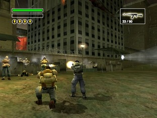 Test Freedom Fighters PlayStation 2 - Screenshot 6