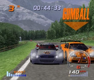 Test Gumball 3000 PlayStation 2 - Screenshot 6
