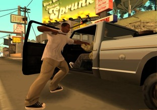 Grand Theft Auto : San Andreas PS2 - Screenshot 18