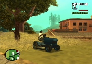 Test Grand Theft Auto : San Andreas PlayStation 2 - Screenshot 84