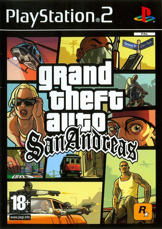 [MULTI] Grand Theft Auto : San Andreas [MULTI] [PlayStation 2]