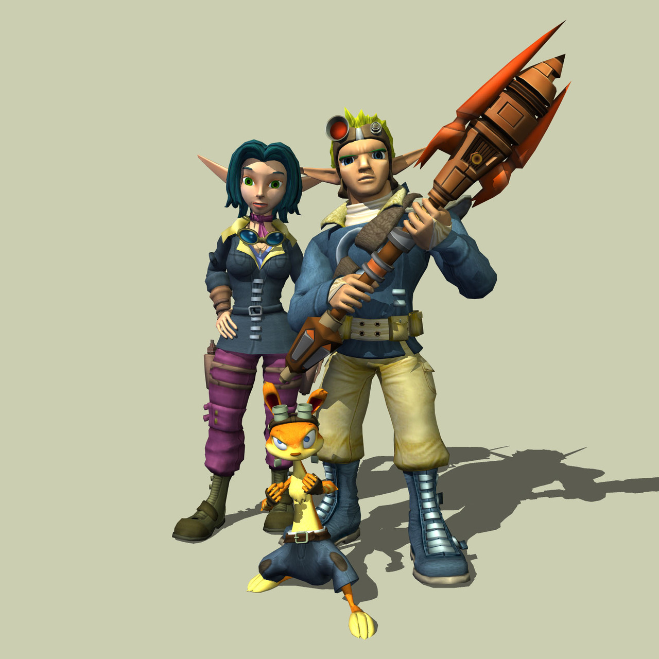 jeuxvideo.com Jak and Daxter : The Lost Frontier - PlayStation 2 Image