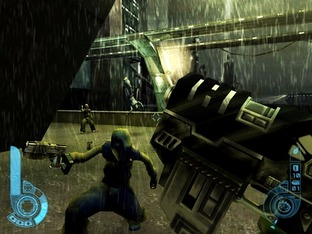 Test Judge Dredd : Dredd Vs Death PlayStation 2 - Screenshot 1