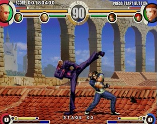 Test The King of Fighters XI PlayStation 2 - Screenshot 16