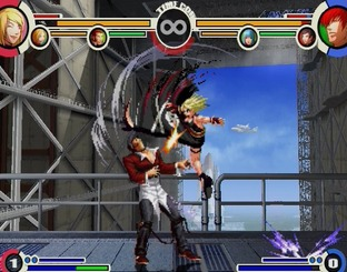 Test The King of Fighters XI PlayStation 2 - Screenshot 17