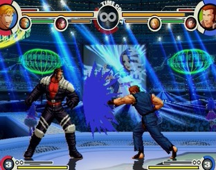 Test The King of Fighters XI PlayStation 2 - Screenshot 18