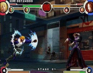 Test The King of Fighters XI PlayStation 2 - Screenshot 21