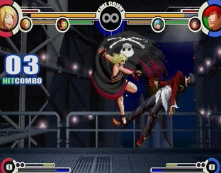 Test The King of Fighters XI PlayStation 2 - Screenshot 22