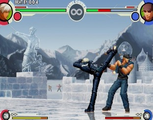 Test The King of Fighters XI PlayStation 2 - Screenshot 24