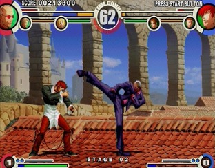 Test The King of Fighters XI PlayStation 2 - Screenshot 25