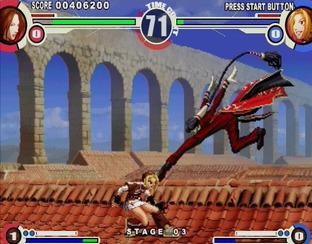 Test The King of Fighters XI PlayStation 2 - Screenshot 26