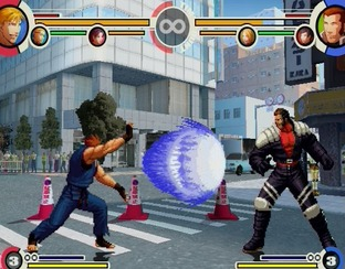 Test The King of Fighters XI PlayStation 2 - Screenshot 27