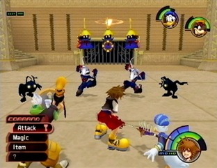 Kingdom Hearts I&II PS2
