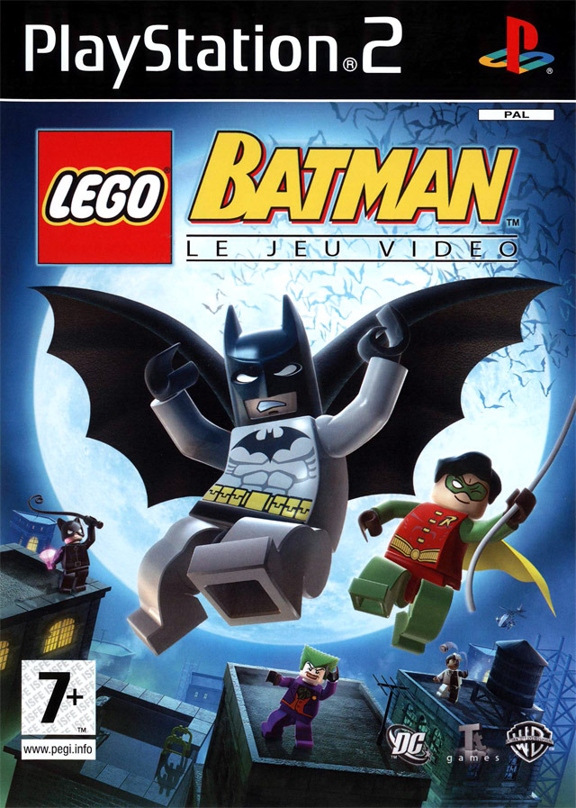 lego batman le jeu vid o sur playstation 2. Black Bedroom Furniture Sets. Home Design Ideas