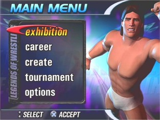 Test Legends Of Wrestling PlayStation 2 - Screenshot 2