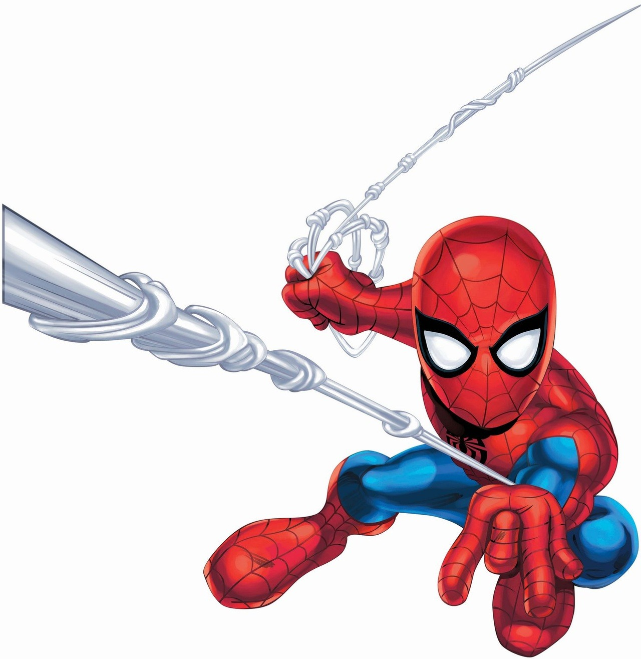 Free Spiderman Superhero Squad Coloring Pages