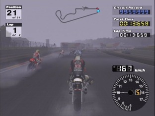 Test Moto GP 3 PlayStation 2 - Screenshot 16