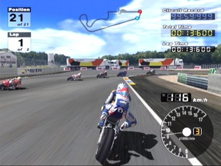 Test Moto GP 3 PlayStation 2 - Screenshot 19