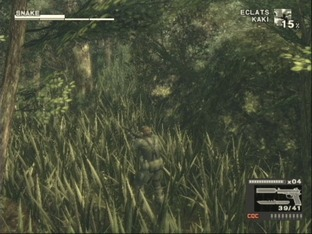 Test Metal Gear Solid 3 : Snake Eater PlayStation 2 - Screenshot 962