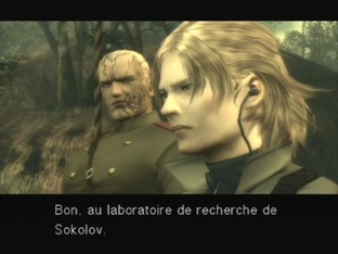Test Metal Gear Solid 3 : Snake Eater PlayStation 2 - Screenshot 963