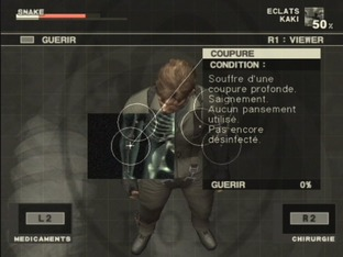 Test Metal Gear Solid 3 : Snake Eater PlayStation 2 - Screenshot 964